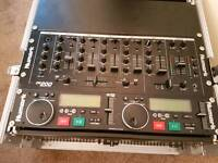 dj quick sale wanted duel cdj mixer equalizer flight case equipment with all cables may swap