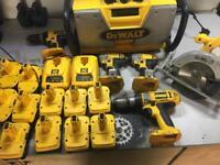 Dewalt 18v XRP battery kit