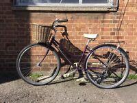 Schwinn bike, altus shimano gear set, comes with basket