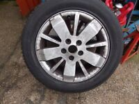 Renault 5 stud with brand new tyre 205 55 16 michelin