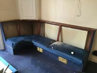 Large Quantity of Bench Seating