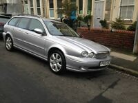 Jaguar X Type estate 4 wheel drive excellent condition 2.5 litre petrol