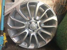"Range Rover sport turbine wheel ( brand new )22"""