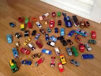 60 various toy cars