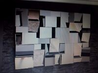 new 3d multi faced mirror 120cm x 80