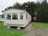 Caravan for rent in Newquay Cornwall 8 berth with central heating, double glazing + private parking