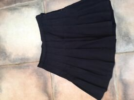 Black School SKirt. Size 71 cm, 28 inches. Great condition, can post or collect from torquay. £2