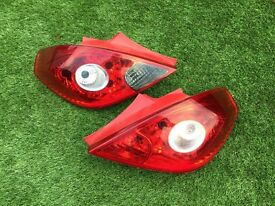 Corsa D mint Back Lights DELIVERY AVAILABLE