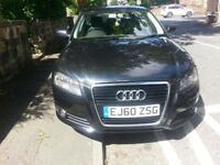 2010 Audi A3 1.6 Tdi Sportback Back Cat D Repaired