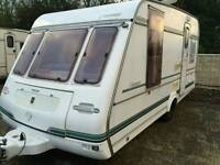 Compass connoisseur 1996 2 berth touring caravan