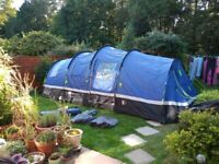 Tent Hi-Gear Zenobia 6 Large Family 6 Person Tent - Excellent Condition - Only used twice