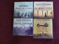 AUDIO BOOKS BY DAN BROWN