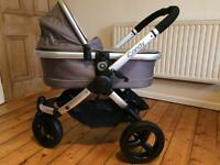 iCandy Peach Jogger Pram (all terrain) with Maxi Cosi car seat and adapters