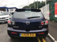 2009 (09 reg) Mazda 3 1.6 Takara Hatchback 5dr Hatchback Petrol 5 Speed Manual