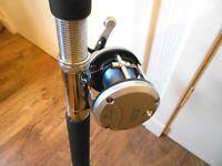 3 meter telescopic rod and reel for mackerel fishing 100-200 gram