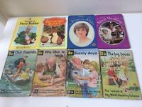 A varied collection of ladybird books