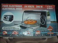 24 volts electric oven