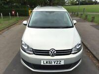 Volkswagen Sharan 2011/61 1.4 TSI Tech SE DSG Grey 5dr