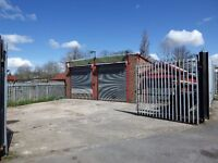 Workshops/Garages/Storage units for rental in Ashton under Lyne, Lancashire.