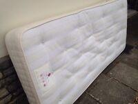 Single mattress , spotless ,