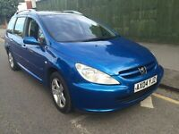 Peugeot 307 SW 1.6 HDi SE Estate *Full Service History *Skyline Roof* A/c
