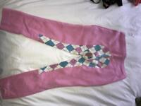 Pink Checkered Jodhpurs