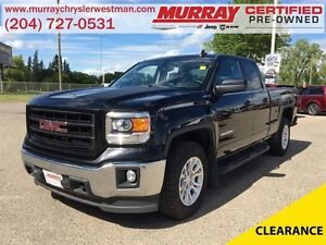 2015 GMC Sierra 1500 Extended Cab SLE 4WD *Backup Camera* *Heate