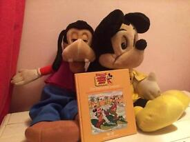 Micky and goofy