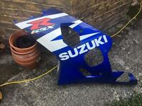 Suzuki GSXR 600 / 750 K4 K5 left side fairing panel