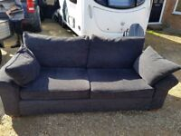 3 Seater sofa from Next with footstool