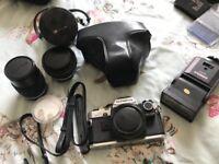 Olympus camera plus lenses and accessories