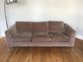 Gorgeous fabric sofa