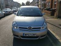 TOYOTA COROLLA VERSO 2007 7 SEATER MANUAL 1.6 PETEOL QUICK SALE