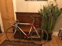 Vintage British Eagle road bike, 453 Reynolds tubing