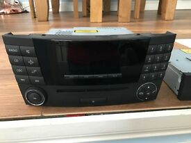 Audio 20 with CD Changer fits Mercedes CLS W219