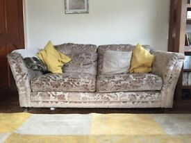 Barker and Stonehouse sofa and chairs