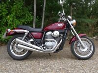 Honda VRX 400 Rare motorbike, Low seat height, Good tourer, Great condition, 14234 miles