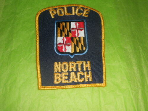 North Beach Maryland Police Patch - Vintage 1970