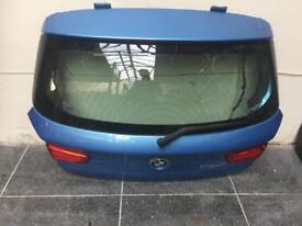 Bmw 1 series f21 tailgate blue