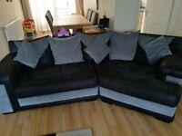 Sofa, Armchair and Footrest
