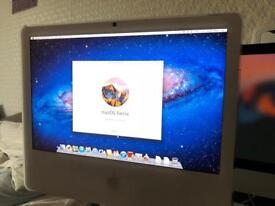 Apple iMac 4 gb ram SIERRA updatable