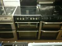 Stoves black 60cm gas cooker