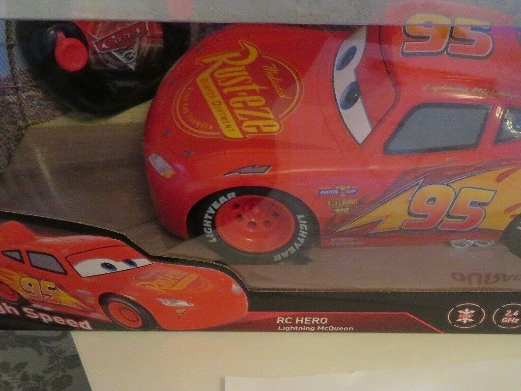 Brand New Turbo Lightning McQueen Remote Control Car 1:12 Scale Kids Easter  Gift | in Bishop Auckland, County Durham | Gumtree
