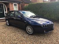 Alfa Romeo 159 Sportwagon 2.4 JTDm, Blue - FSH, new clutch, bluetooth etc