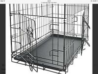 Dog cage, as new