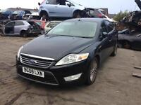 08 FORD MONDEO GHIA TDCI 5 DR HATCH BLACK 1.8 DIESEL ENG CODE - QYBA BREAKING SPARES PARTS