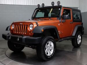 2010 Jeep Wrangler SPORT 4X4 MAGS A/C 4 LIFT *2 TOITS