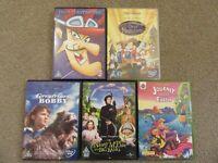 Various Children's Films or Programmes on DVD