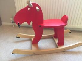 IKEA baby reindeer rocker