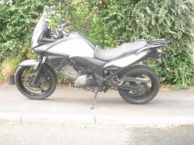 Suzuki V strom 650, 2012 with back box, Bargain at £3200.